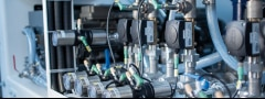 ELEMENT control valves which are connected in one system via the modular valve platform.